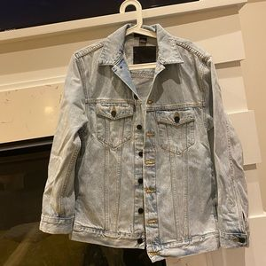 Alexander Wang Denim Jacket Xsmall
